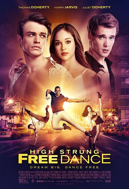 Official High Strung Free Dance movie poster image